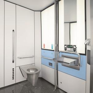 Swisstoilet Automat Innenansicht