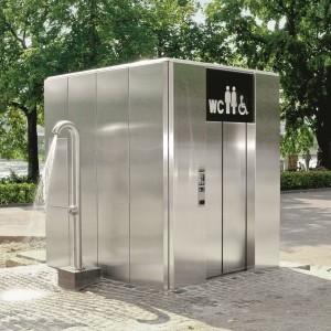 Swisstoilet Automat Basel